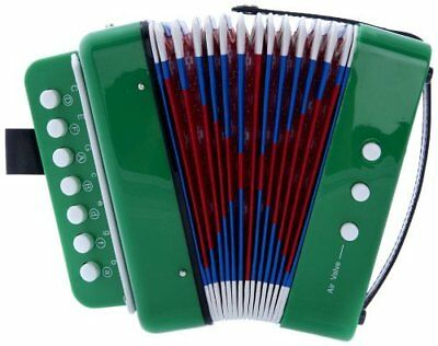 D'Luca Child Button Accordion Green