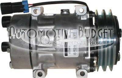 A/C Compressor w/Clutch for Sanden 4306, 4428 - NEW