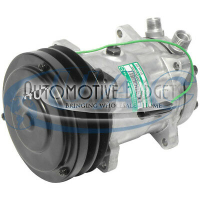 A/C Compressor w/Clutch for Sanden 4311, 4409 - NEW