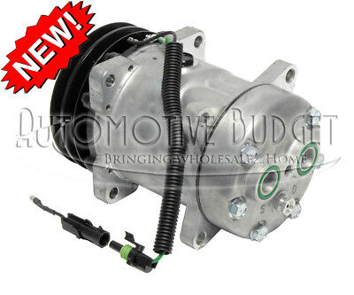 A/C Compressor w/Clutch for Sanden 4435 - NEW