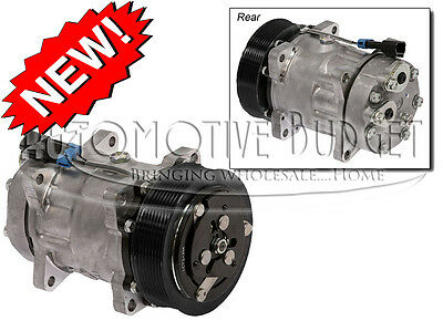 A/C Compressor w/Clutch for Sanden 4490, 4716 - NEW