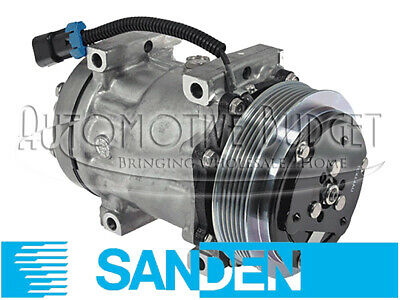 A/C Compressor w/Clutch Sanden 4492, 4761 for Freightliner - NEW OEM