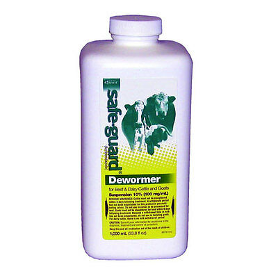 Safe-Guard (Fenbendazole) Dewormer Liquid 1000ml