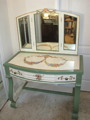 Vintage Empire Vanity custom painted