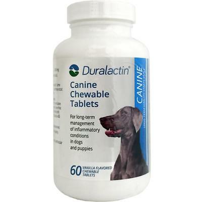 Duralactin Canine 1000mg 60ct Chewable Tabs for Dogs