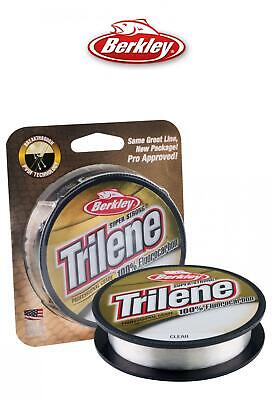 Berkley Trilene 100% Fluorocarbon Fishing Line 200yd*4lb-25lb*Carp Coarse Game
