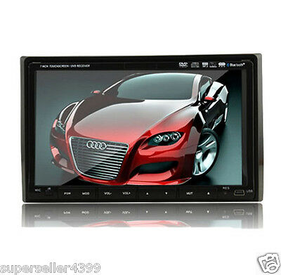 """7"""" Car Stereo CD VCD DVD MP3 Player In Dash Double Din"""