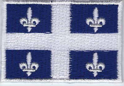 écusson ECUSSON PATCHE THERMOCOLLANT DRAPEAU QUEBEC