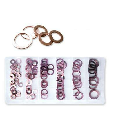 110pc Copper Washer Assortment