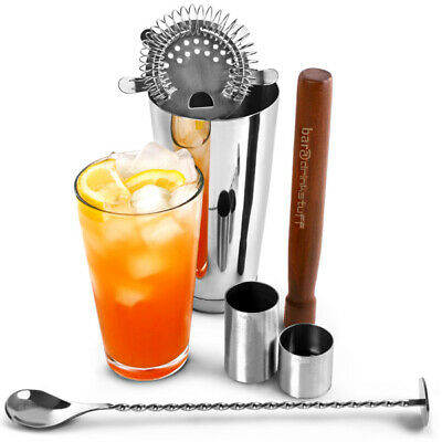 Home Cocktail Set - Boston Cocktail Shaker Set in Recyclable Gift Box