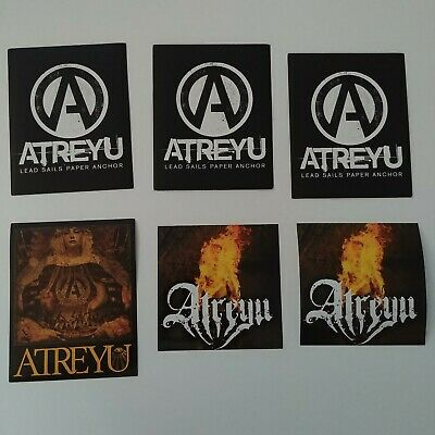 Atreyu Congretation of the Damned Storm Board Sticker