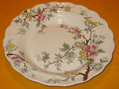 BOOTHS/BOOTH CHINESE TREE RIMMED SOUP PLATES          (0.5/237)