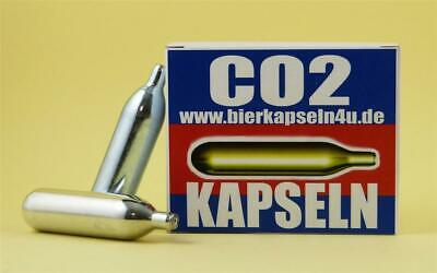 100 x 12g CO2 Kapseln z.B. Gotcha Paintball Softair