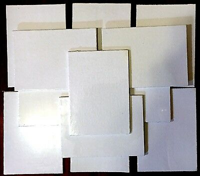 Lot of 12! Blank White Art Canvas Panels! Oil/Acrylic! Brand NEW!