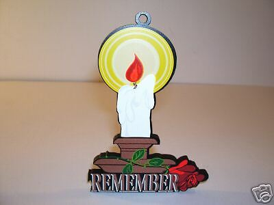 Flame Of Remembrance Christmas Ornament Shelia's