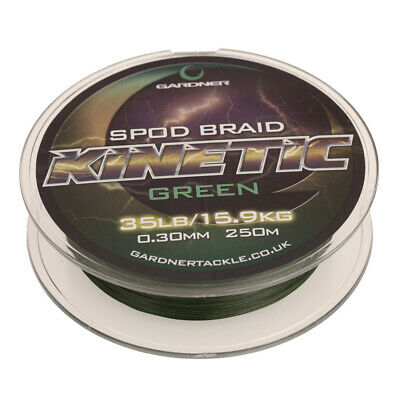 Gardner Tackle Kinetic Spod Braid - Carp Barbel Tench Bream Coarse Fishing Line