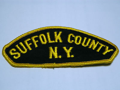 Police Suffolk County  New York NY Shoulder Patch