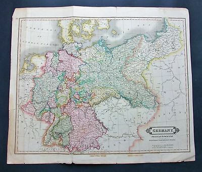 1821 LIZARS. Germany Prussian Dominions Bavaria Bohemia