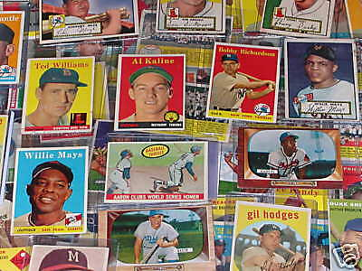 FOUR VERY OLD CARDS: 2 from 1950s & 2 from 1960s