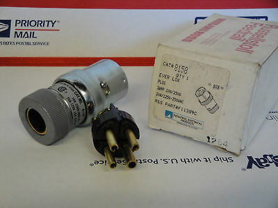 New In Box Russellstoll # 8158 Ever Lok Plug # F11389C