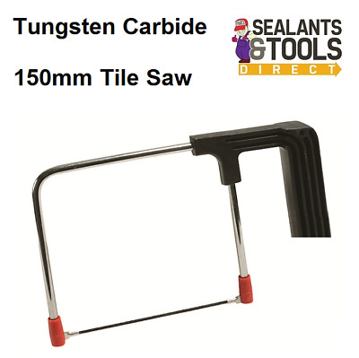 Silverline Deep Coping TCT Tungsten Carbide Ceramic Tile Saw 150mm 675051