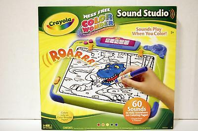 Crayola Color Wonder Sound Studio SoundPlayWhenyouColor