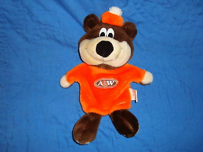 A&W Bear Hand Puppet Plush 12""