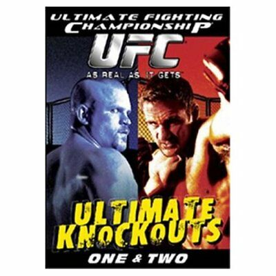 Ufc Ultimate Knockouts Vol 1 & 2 Mma Ufc Gsp Iceman