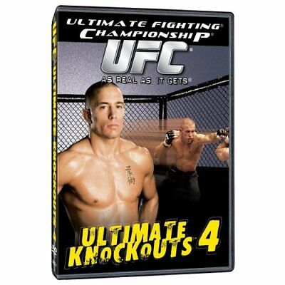 Ufc Ultimate Knockouts Vol 4 Mma Ufc Gsp Iceman Couture