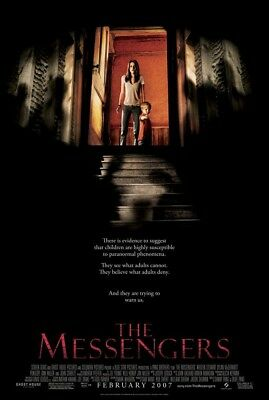 THE MESSENGERS MOVIE POSTER 2 Sided ORIGINAL 27x40