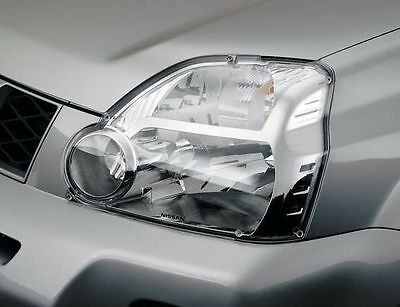 Genuine Nissan X-Trail T31 Series Front Headlamp Head Light Protection Covers