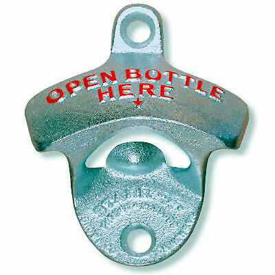 STARR X Wall Mount BOTTLE OPENER Beer Cap Remover Kegerator Cooler FREE USA SHIP