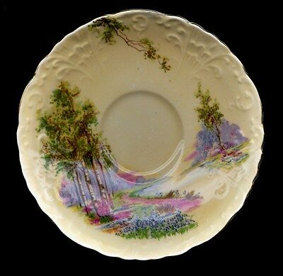 Aynsley Scenic Pale Yellow Saucer Only