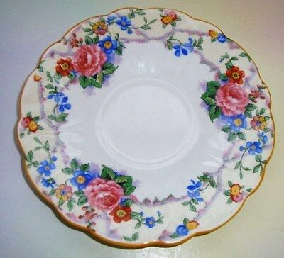 Aynsley Floral Garland Saucer Only