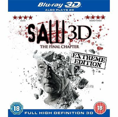 SAW  The Final Chapter 7 - 2D + 3D  *BRAND NEW BLU-RAY*