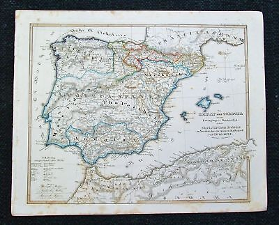 1846 SPRUNER. Majorca Minorca Spain Gibra - Atlas Major