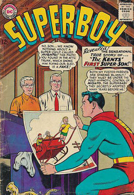 SILVER AGE SUPERBOY # 108 VG The KENT'S FIRST SUPER SON