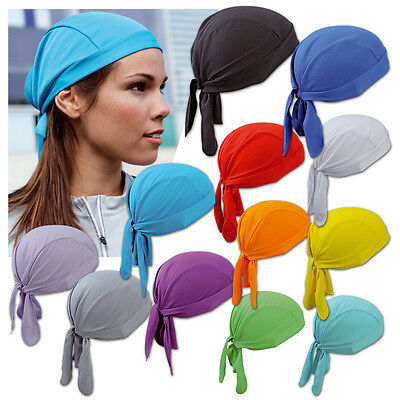 !mb Function Piratentuch Sport Bandana Jogging Walking Kopftuch Biker Hat 653