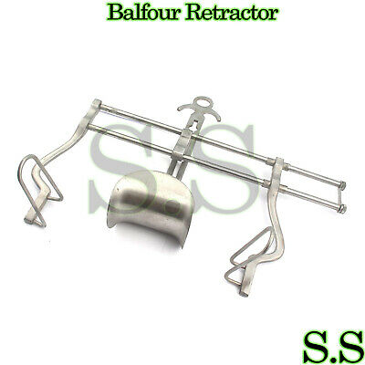 "BALFOUR RETRACTOR 10"" Gyno Tools Surgical Instruments"
