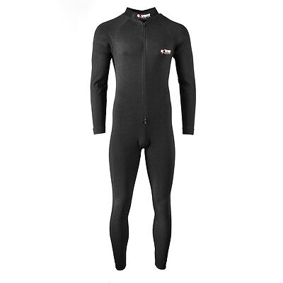 Motorcycle one piece base layer under suit under leather from extreme racing