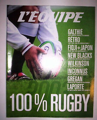 L'equipe Mag 4 Oct 2003 100% Rugby Coupe Du Monde