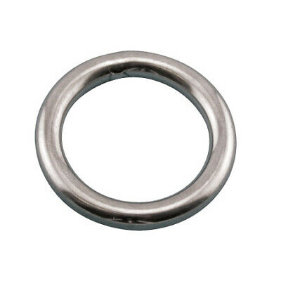 """Round Ring 316 Stainless Steel 3/8""""x 2"""""""