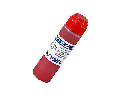 Yonex Racket Stencil Ink Red - Tennis, Squash, Badminton - Free UK P&P