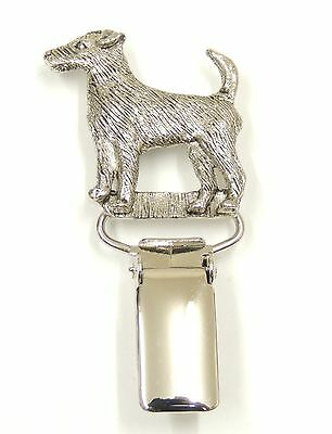 Parson Jack Russell Dog Show Ring Clip/Number Holder
