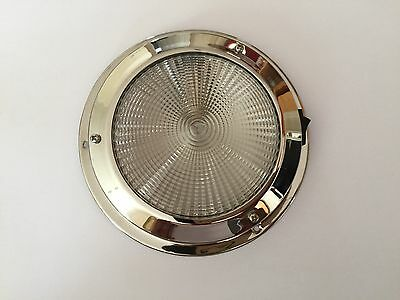 LED Dome light 12V Interior 140MM Stainless Steel /Boat / Yacht