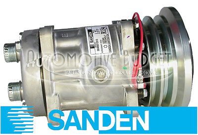 5733 A//C Compressor W//Clutch NEW for Sanden type 4617