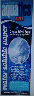 Water Soluble Paper-Crazy Felt-Patchwork-Embroidery-soap making-crafts-print
