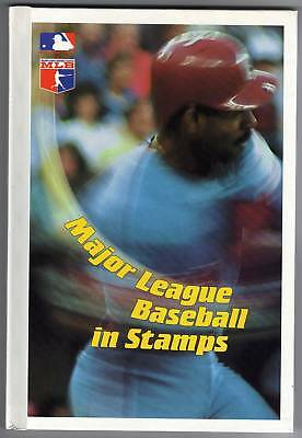 US Major League BB in Stamps - Book + Grenada Stamps