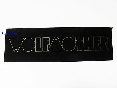 WOLFMOTHER Sound Siren Return Upon Cosmic Egg Sticker