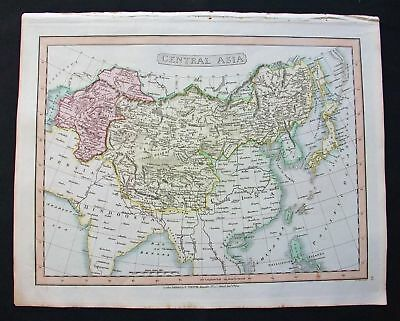 1820 SMITH Folio Atlas Major: Central Asia, China Japan